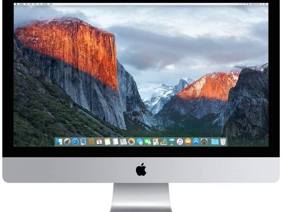 Apple 27-inch iMac with Retina 5K display (Late 2014 Previous Gen), (No mouse or keyboard) $699.00