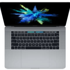 Apple MacBook Pro: 15-inch, (2017) – Space Gray **Previous Gen, Pre Owned** $1599.00
